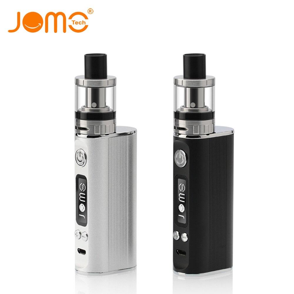 JOMOTECH Original 80 W 2600 mAh Batería Cigarrillo Electrónico Kit 0.4ohm 2 ml Vaporizador Vape Cuadro Mod Pantalla LED E cigarrillo Jomo-130