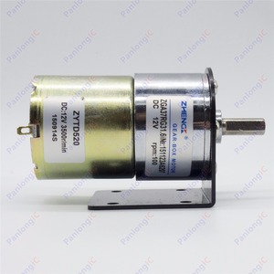 Image 5 - ZGA37RG 12ボルトdc 100 rpmギアボックスモーター1/34。5高トルク3500 rpmリバーシブルモーター+モーターホルダー+ 6ミリメートルに8ミリメートルフレキシブルカップリング