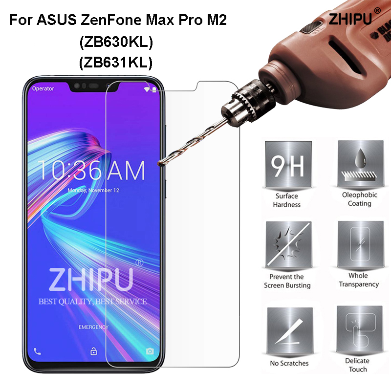 ASUS ZenFone Max Pro M2 ZB631KL Tempered Glass 9H High Quality Protective Film For ASUS ZenFone Max Pro M2 ZB631KL