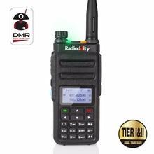 Радио ddity GD-77 Dual Band Dual Time слот цифровой двухстороннее Радио Портативная рация DMR Совместимость с motrobo уровня 1 уровня 2 + кабель