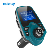 Nulaxy FM Modulator Car MP3 With USB Car Charger Support Handsfree Calling TF Card USB Flash