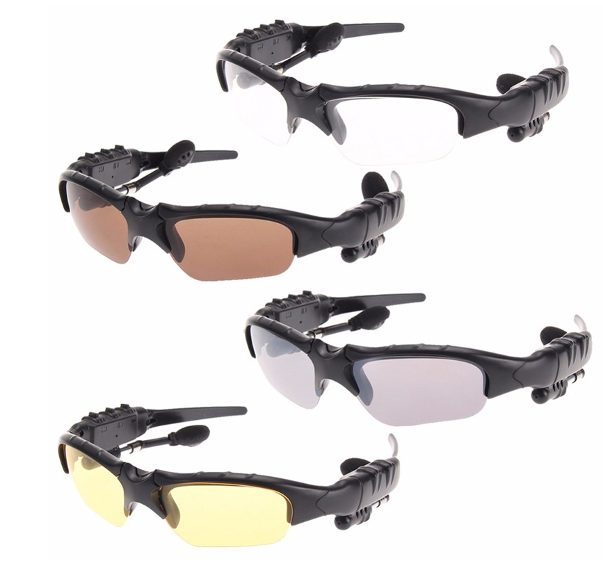 Smart Stereo Bluetooth Sunglasses Men 3D Polarized glasses Bluetooth multi-function stereo car outdoor hands-free voice glasses