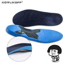 KOTLIKOFF Orthotic Insole High Arch Plantar Fascistic Orthopedic Arch Support Mild Flat Feet Heel Pain Pronation Men Women Shoes