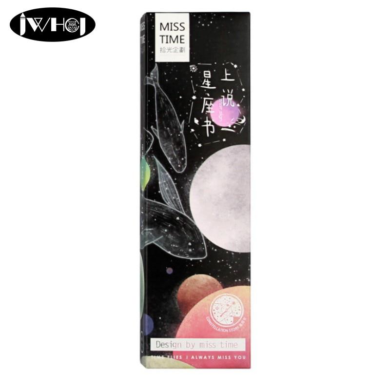 30 pcs/box Constellation star sign bookmark paper book holder message card kawaii stationery school supplie kids gifts