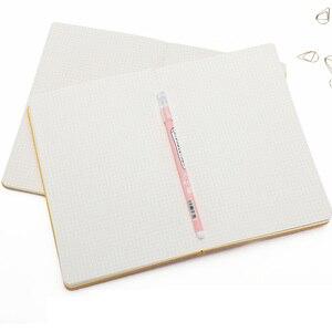 Image 3 - A5 دفتر بغلاف لين تربيع دفتر يوميات الشبكة