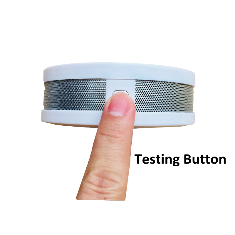 Image 2 - Home Security 2 In 1 CO Smoke Detector Live Voice Carbon Monoxide Leakage Sensor LCD Display Co Alarm Sensor Smart Home Sensor-in Carbon Monoxide Detectors from Security & Protection