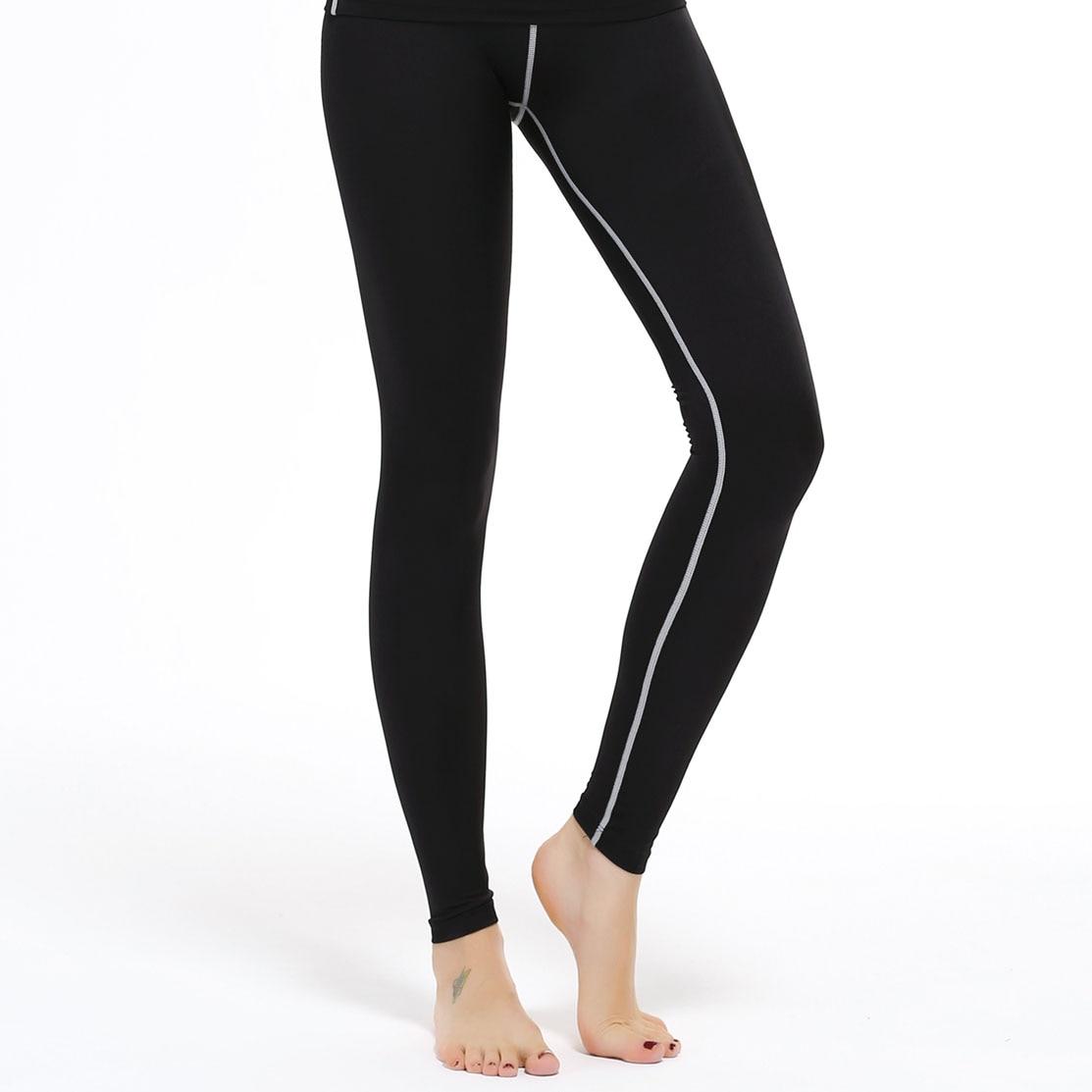 High Elastic font b Women s b font Compression Long Pants Fitness Skin Joggers font b