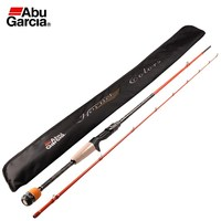 Abu Garcia 1.98m Casting Fishing Rod 2 Section M Power Carbon Fiber Line Lure Fishing Rod Pole Weight 8 12lb Vara De Pesca Rod