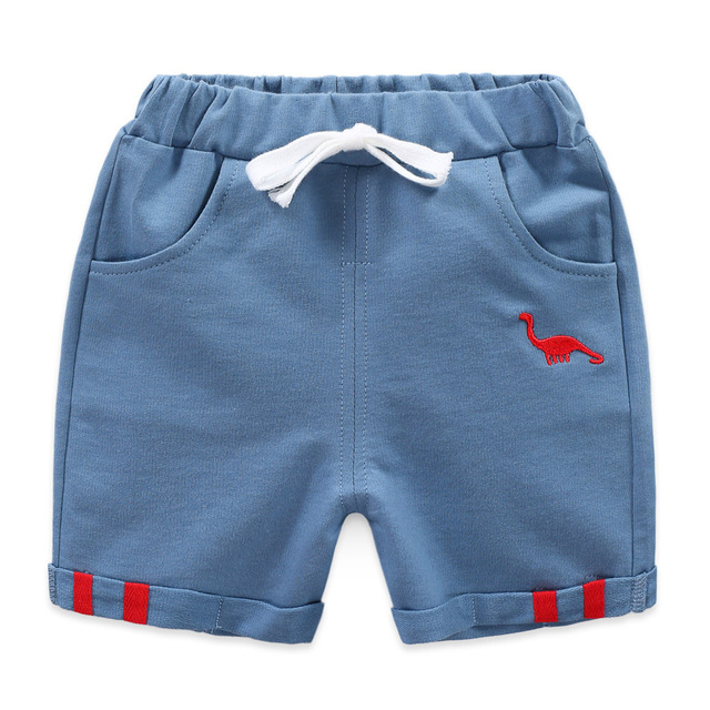 2019 new hot summer Children shorts boy girl child Harem  Dinosaur Pants  loose army kids clothes toddler baby sports clothing