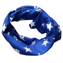 40*20cm Baby Scarf Spring Autumn Warm Kids Cotton O Ring Scarf Infant Neck Scarf