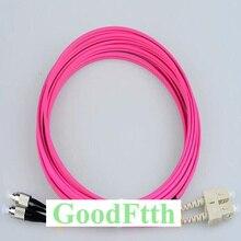 Fiber Optic Patch Cord Jumper SC FC FC SC Multimode OM4 Duplex GoodFtth 20 100 m