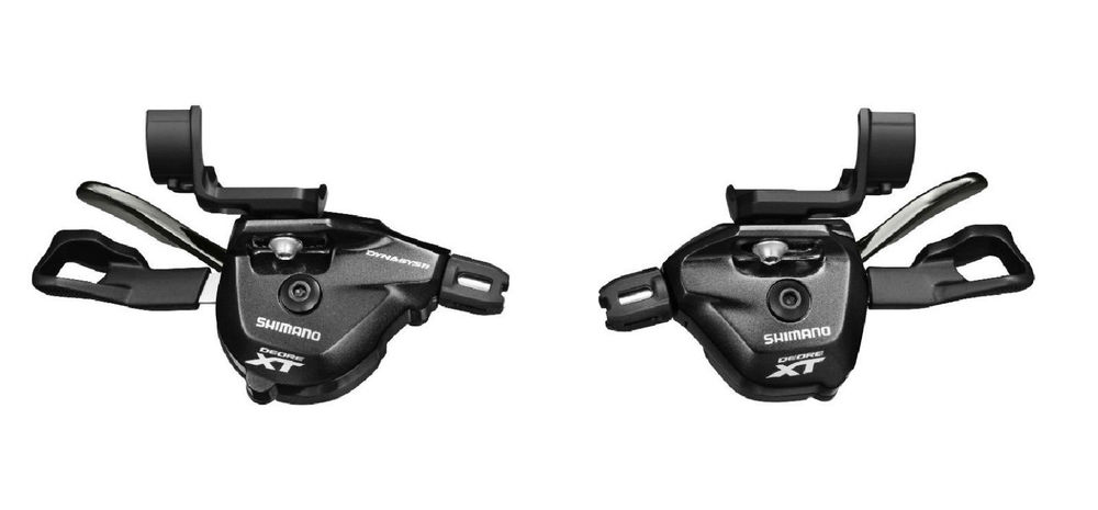цена shimano XT M8000 I-Spec II Shifter Shift Lever 11 Speed (Front/Rear) Set New