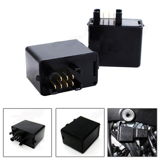 7 Pin LED Flasher Relay Indicator for Suzuki GSXR GSX 600 750 VL VZ 800 GS SV 1000 S(CA199) for SUZUKI motorcycles