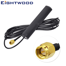 Eightwood DAB /DAB+Car Aerial 170-240 MHz Antenna Internal Glass Mount Car for Auto Signal Booster