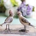 Decorativo américa Resina Pássaro