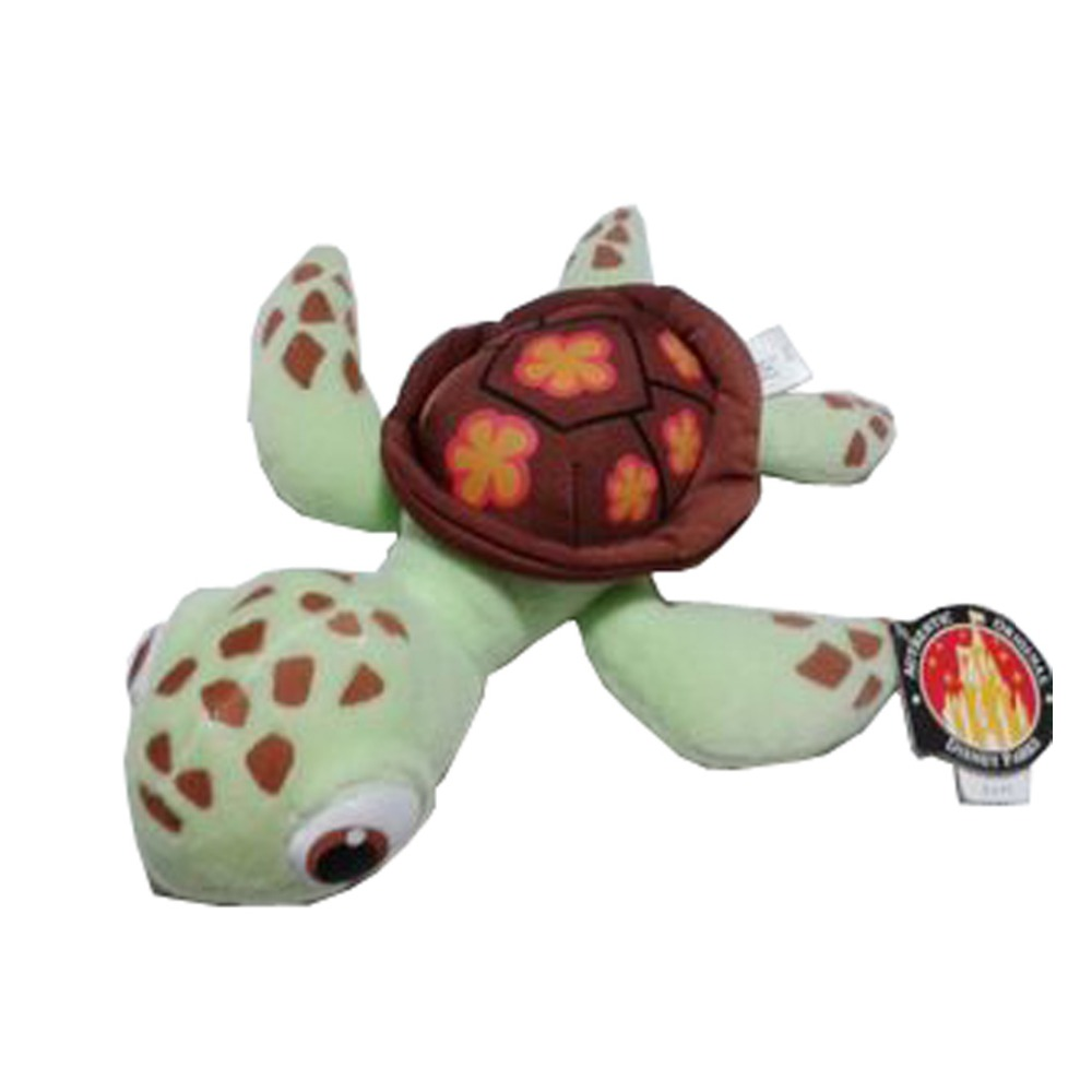 Turtle Plush Squirt Plush Toy, Green Sea Turtle Plush Toy Finding Nemo Plush 18cm  цена