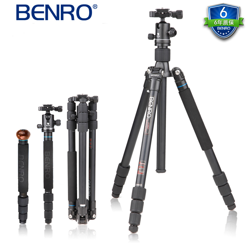 Tripod Benro monopod A1682TB0 portable digital SLR camera tripod head portable stand Authentic