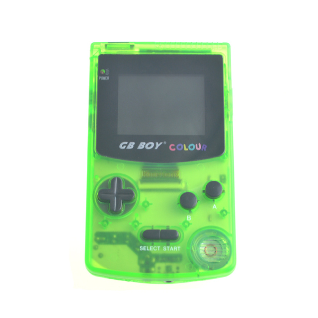 GB Boy Color Colour Handheld Game Consoles Game Player with Backlit 66 Built-in Games 5 Colors GB Boy Hand Held Games 5