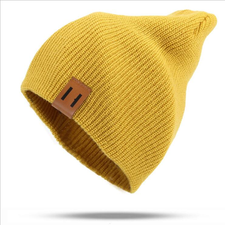 2019 Winter Hats for Woman HipHop Knitted Hat Women's Warm Slouchy Cap Crochet Ski   Beanie   Hat Female Soft Baggy   Skullies     Beanies
