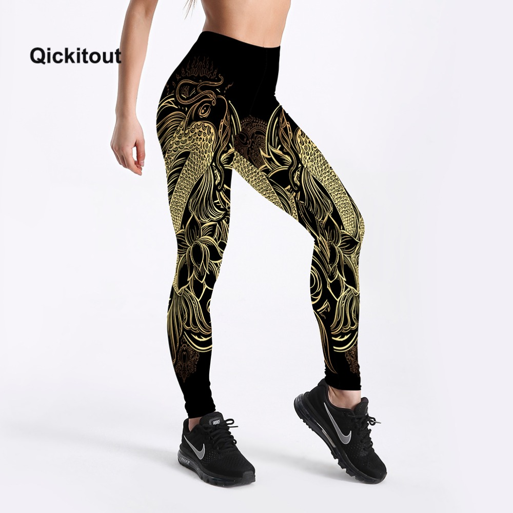 Women Black Leggings Summer Soft Elastic Workout Pants Streak Printed Simple Style Big Size Fitness Trousers