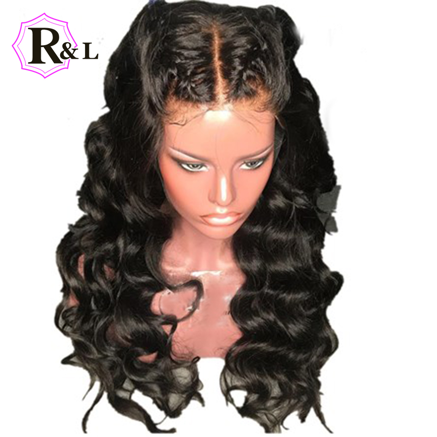 RULINDA 13X6 Lace Front Human Hair Wigs Pre plucked Loose Wave Brazilian Remy Hair Lace Wigs