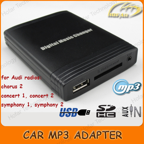 Digital music changer aux sd usb mp3 adapter interface for audi digital music changer aux sd usb mp3 adapter interface for audi radio chorus 2 concert sciox Choice Image