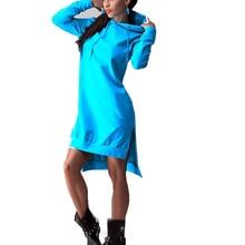 Zebery Women Pockets Sweatshirt  Dress 2018 Casual Hoodies Women Tracksuit Hoodies Sweatshirt Female Slim Clothes Hoodie