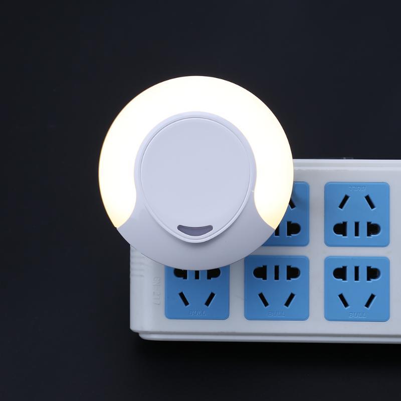 Светодиодный ночник розетки/Батарея свет лампы для Спальня украшения дома горячей светло ...