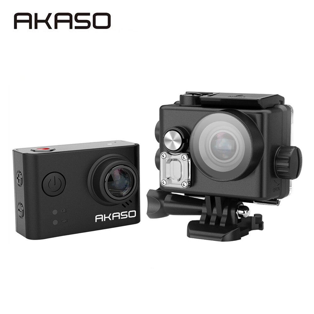 AKASO SO33 4 K WIFI caméra d'action extérieure vidéo Sports extrêmes casque Ultra HD plongée étanche 40 M 12MP 170 grand Angle