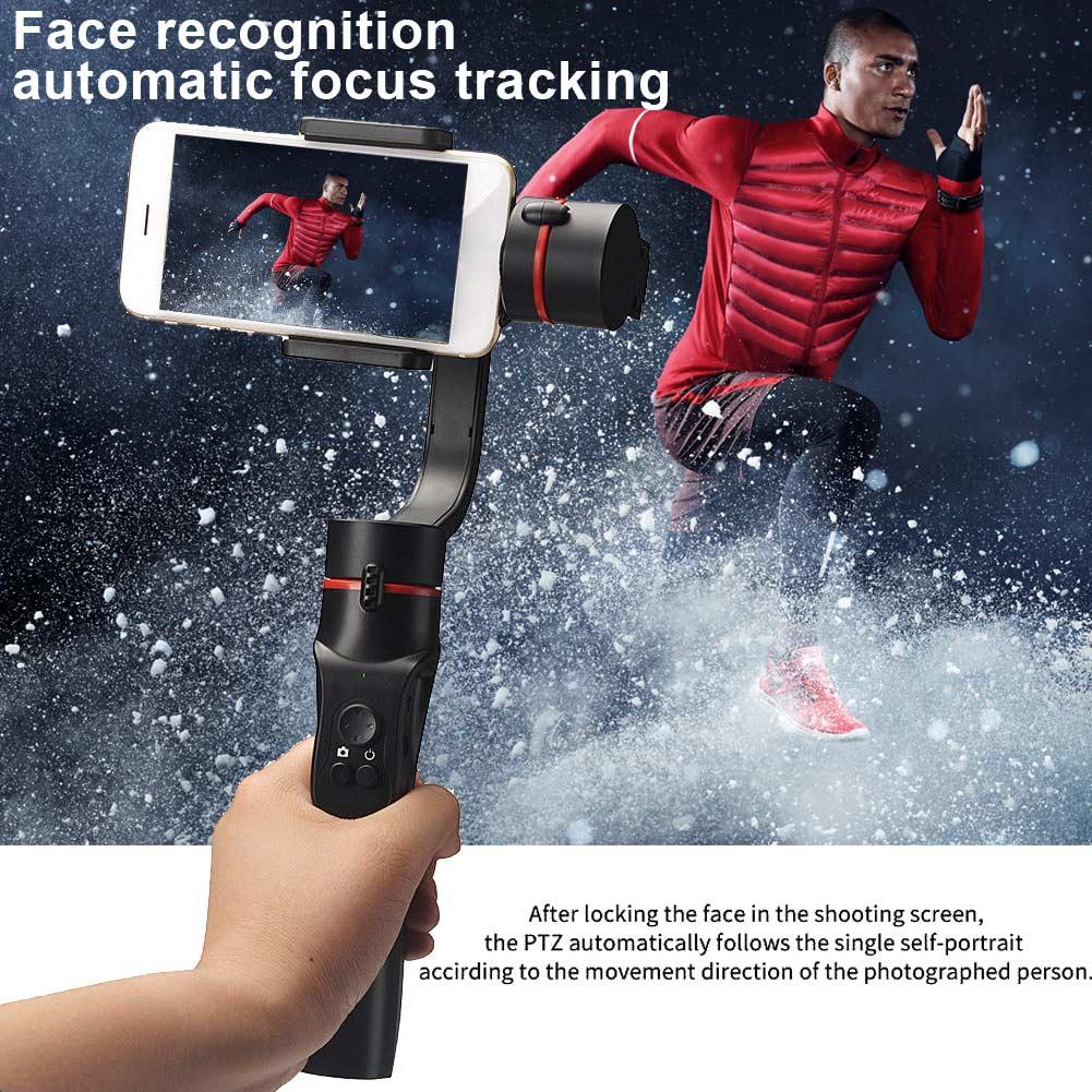Stabilisateur de cardan de téléphone portable Bluetooth 360 degrés panoramique pour la photographie XXM8