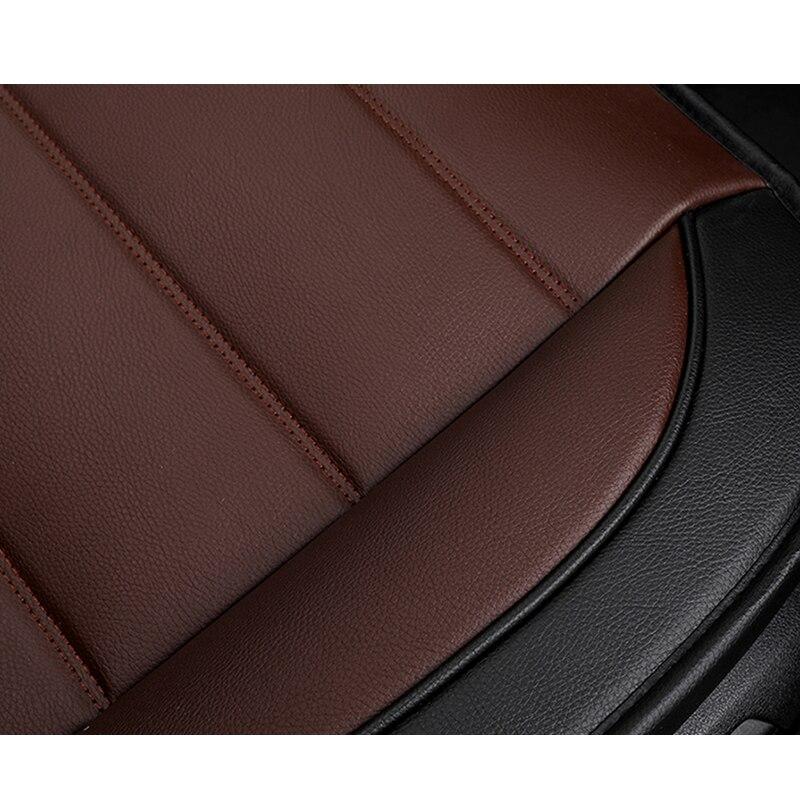 KADULEE housse de siège auto en cuir synthétique polyuréthane pour Skoda Octavia 2 a7 a5 a3 Fabia superbe 2 3 Rapid Yeti super auto accessoires de voiture - 3
