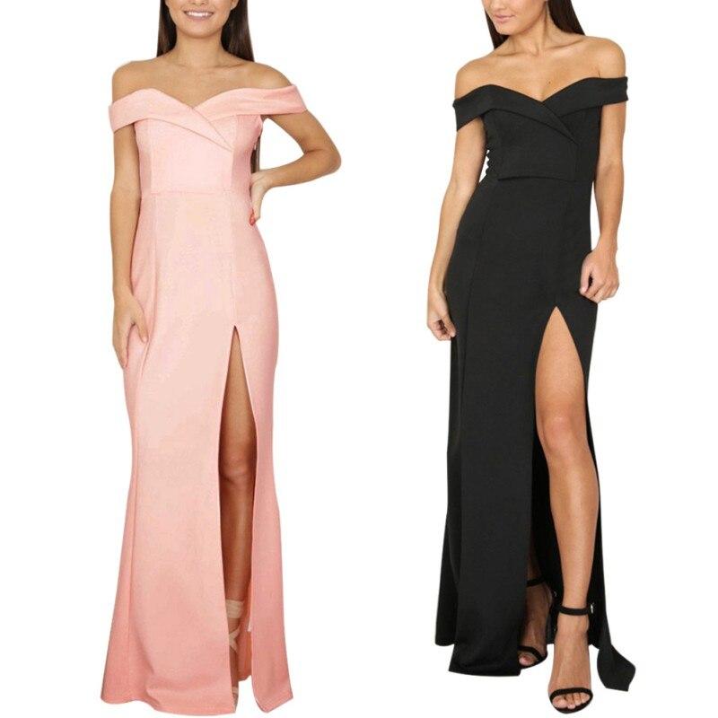 HTB1Xi93SpXXXXXvapXXq6xXFXXX1 - Summer Dresses Strapless Solid JKP073