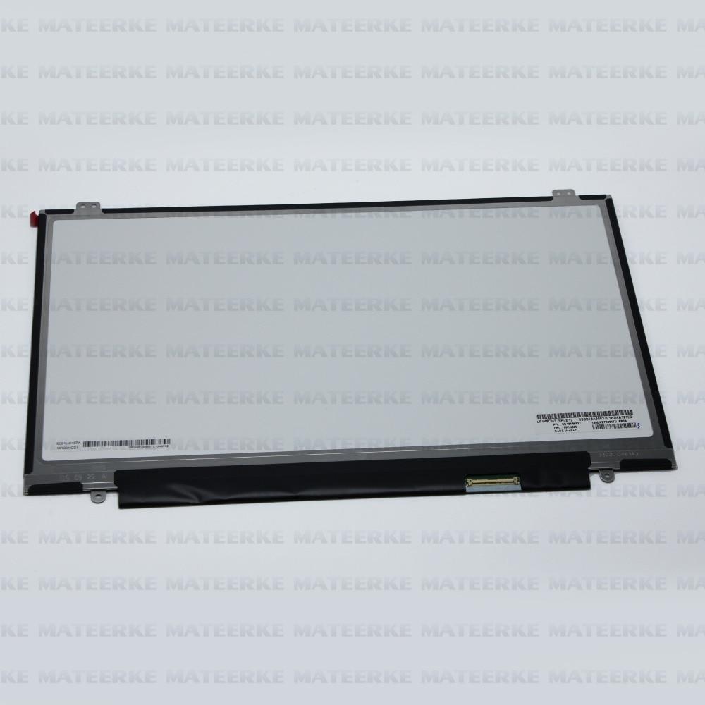 2560X1440 14.0 For Lenovo Thinkpad X1 Carbon 2nd Gen LCD LED Screen Non-touch WQHD 04X3923 LP140QH1-SPB1 Display 14 inch lcd display touch screen for lenovo thinkpad x1 carbon lcd screen touch digitizer assembly lp140qh1 sp a2 display lcd