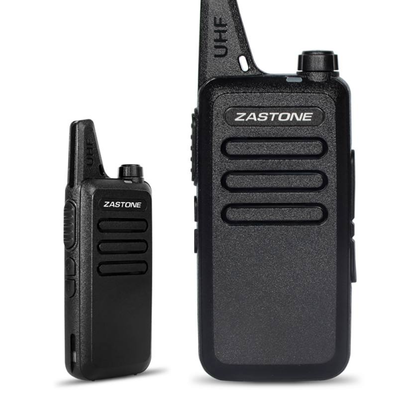 Mini Portable Walkie Talkie Instant Messenger Handheld Walkie-talkie 3W Radio Transceiver 400-470MHz Frequency EU US