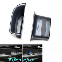 2x Car Front Seat Door Armrest Cover Holder Storage Box Case Container Fit For KIA SORENTO