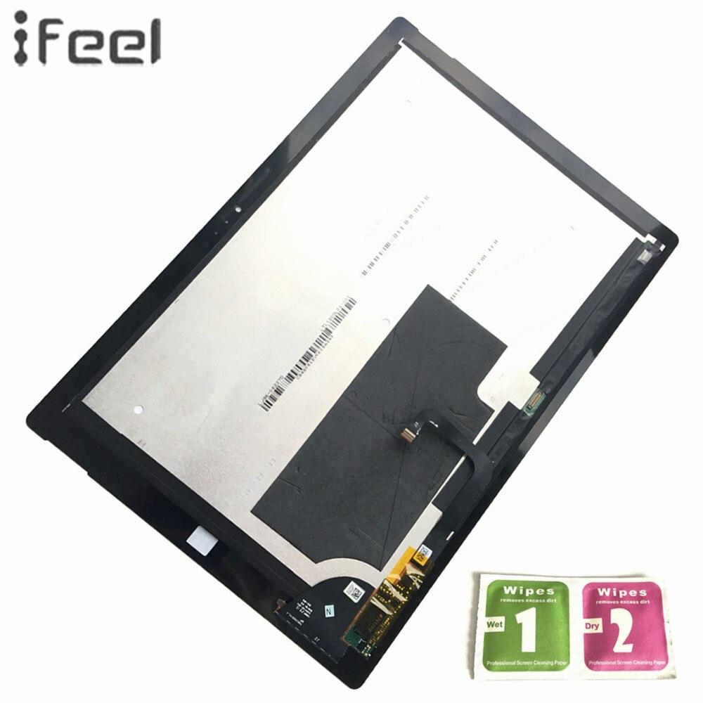 IFEEL 100% Testé Pour Microsoft Surface Pro 3 (1631) TOM12H20 V1.1 LTL120QL01 003 LCD Affichage à L'écran Tactile Avec Digitizer Réparation