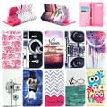 PU Flip Leather Case for Samsung Galaxy Grand 2 Duos G7106 G7102 Stand Wallet Phone Cover with Card Slot Soft Silicon TPU Cover