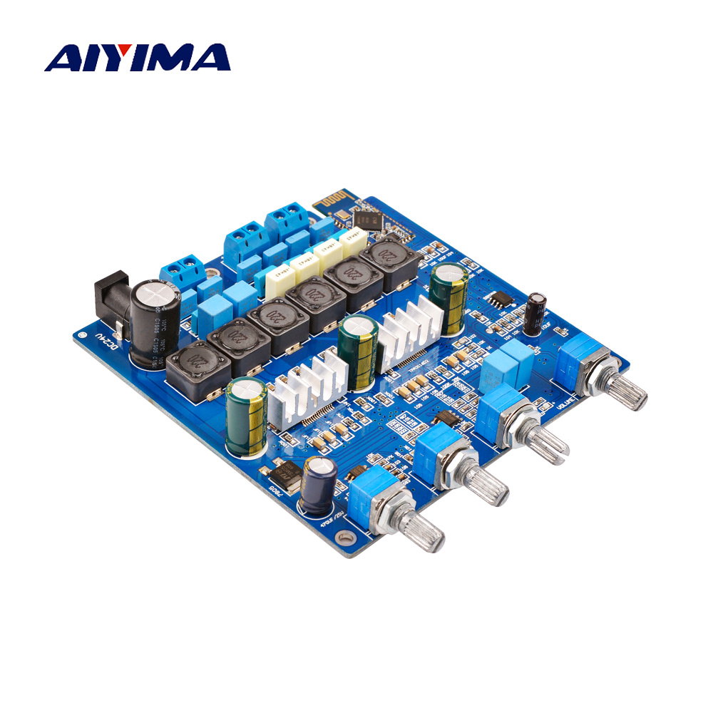 AIYIMA TPA3116 <font><b>2.1</b></font> <font><b>Bluetooth</b></font> Power Amplifier Audio Board 2*50W+100W Subwoofer Amplifier Sound AMP DC24V Home Theatre image