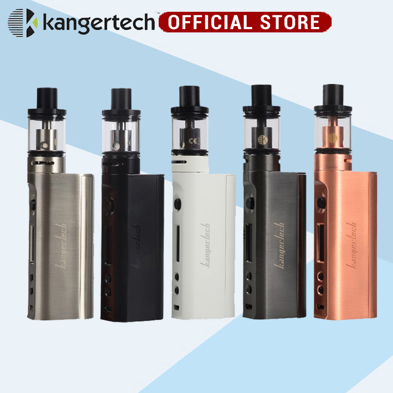 e electronic cigarette Kanger Subox Mini-C Starter Kit 50W Subox mini C Box Mod Vape  Protank 5 Atomizer 0.5ohm not battery fruit mango flavor e liquid for e cigarette by hangsen