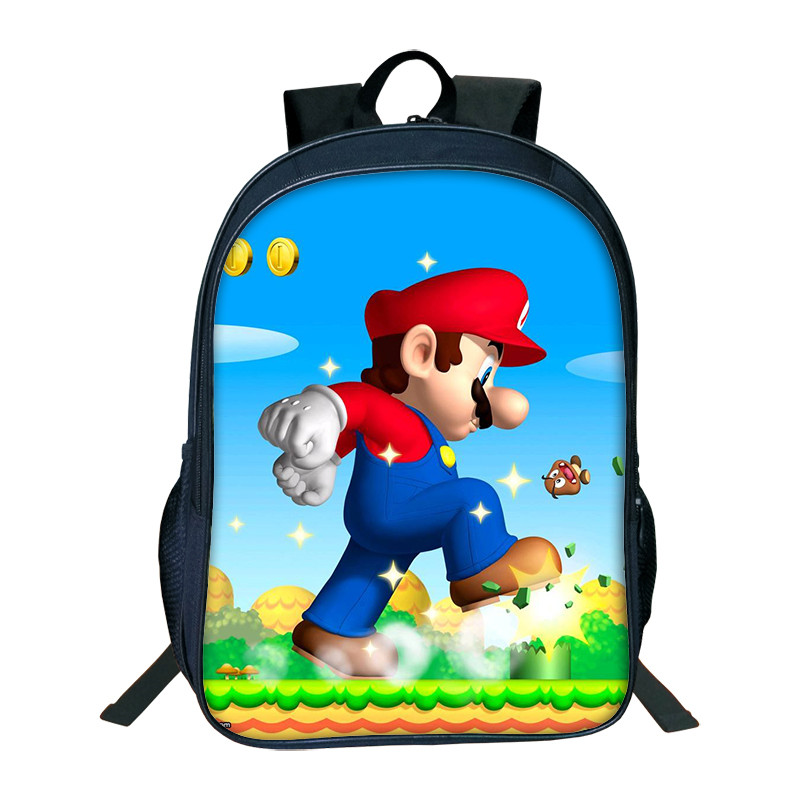 2019 Super Mario Bags For Children Cartoon Sonic Backpacks Boys Girls School Bag Daily Kids BookBag Big Capacity Two Layer Bags2019 Super Mario Bags For Children Cartoon Sonic Backpacks Boys Girls School Bag Daily Kids BookBag Big Capacity Two Layer Bags