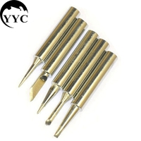 Soldering Iron Tips for Temperature Adjust Electric Soldering Iron Welding Repair Tools Tip For HUANG HUA (GAOJIE ROHS) C0028 Welding Nozzles