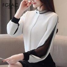 FGLAC Women Blouses Spring Casual Fashion Chiffon s