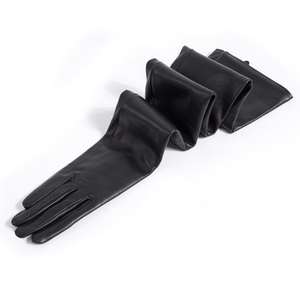 Image 2 - custom made 30cm to 80cm long top sheep leather evening opera gloves 15 colors to choose