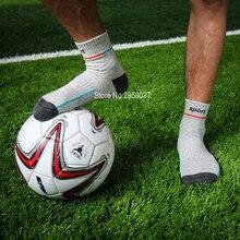 20 pairs/Lot 77% Cotton Knee-High Men Sport Non-slip Socks Running Camping Sock Calcetines Basketball Soccer Fitness Men Socks