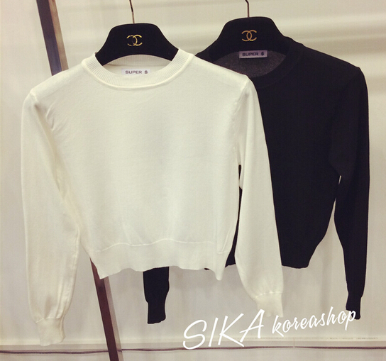 Popular Fitted Cropped Sweater-Buy Cheap Fitted Cropped Sweater ...