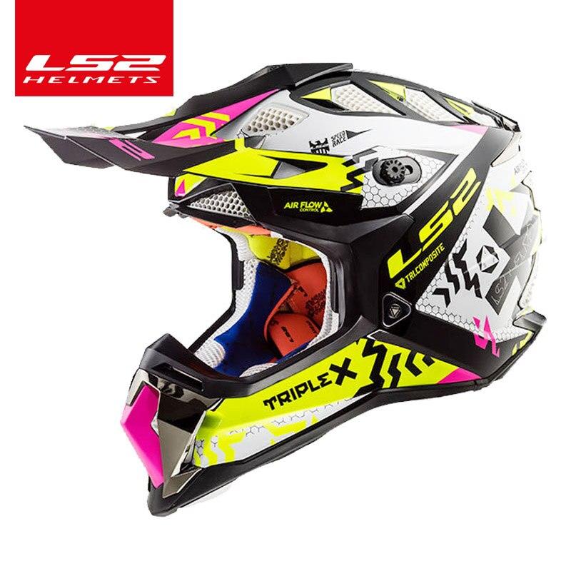 Original Ls2 Subverter Mx470 Off Road Helmet Casco Casque Moto