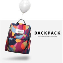 Wholesale 2019 Multifunction Backpack Women Oxford Backpacks Female Anti Theft New Schoolbag for Girls Travel