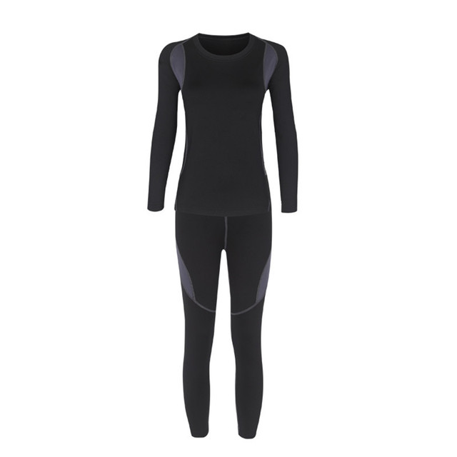 HAINES Thermal Underwear Women Winter Clothes Hot-Dry Technology Surface Thermo Underwear Women Long John sous vetement femme 3