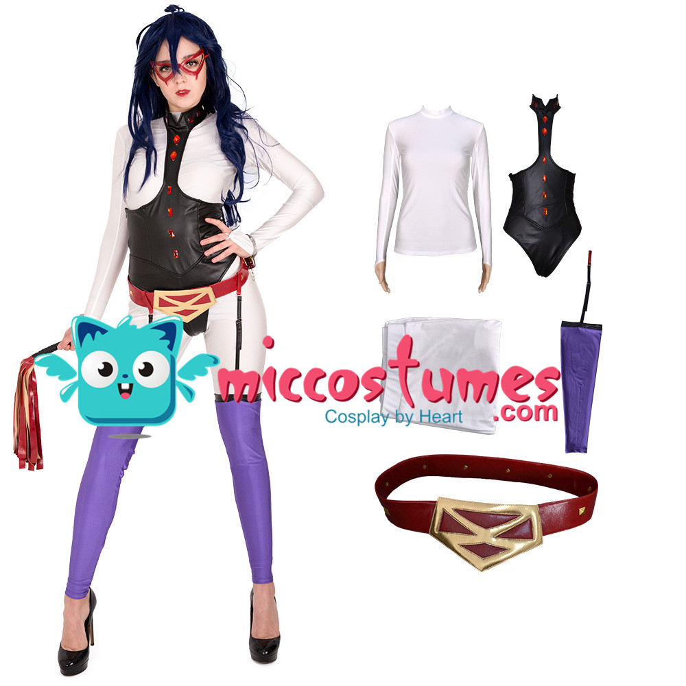 My Hero Academia Midnight Nemuri Kayama Cosplay Costume Bodysuit Jumpsuit