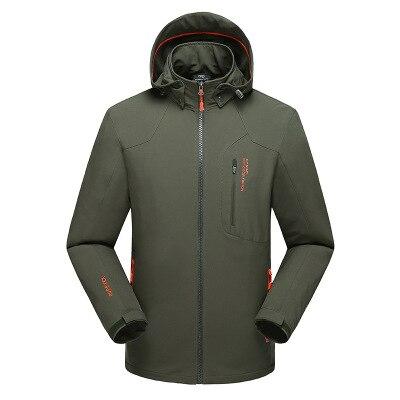2018 Autumn Top sale Jacket Men Windproof Hood parka mens jackets and coats Windbreaker Outdoorsport Coat Jaqueta masculina